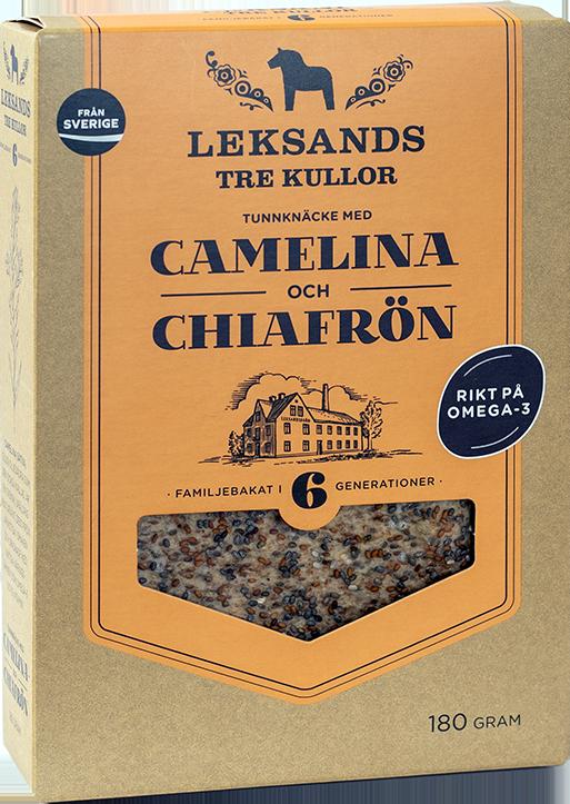 Camelina + Leksands Knäckebröd=Sant